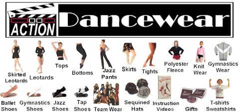Click into Dancewear, Unitards, Leotards, Tights, Dance Shoes...More