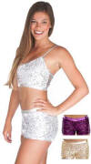 Gia-Mia Sequin Short