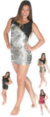 Gia-Mia Reflection Sequin Dress