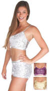 Gia-Mia Sequin Bra Top
